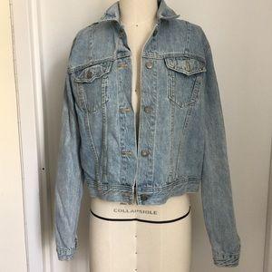 Women Gap denim jacket size M tall